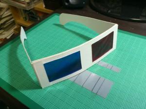 厚紙3Dメガネ