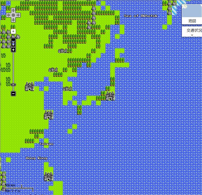 日本 - Google マップ