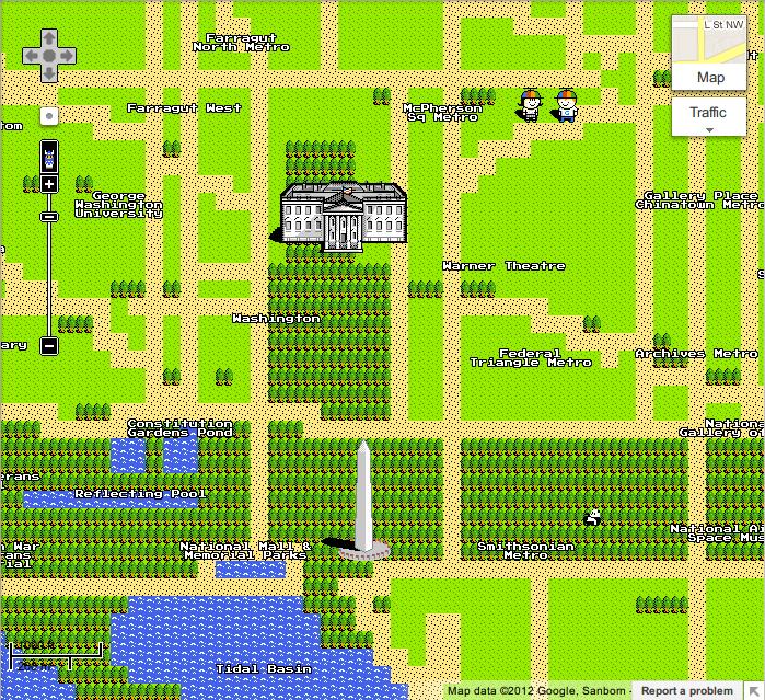 ホワイトハウス - Google マップ